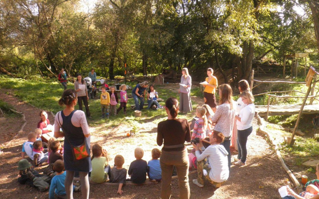 Schůzka rodičů Dětského lesního klubu