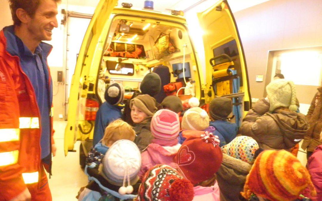 Výlet na záchranku a k hasičům ve Vsetíně