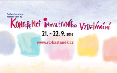 Program Konference inovativního vzdělávání 21. – 22. září 2018