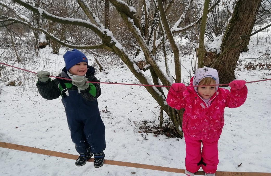 Vrběnka v zimě