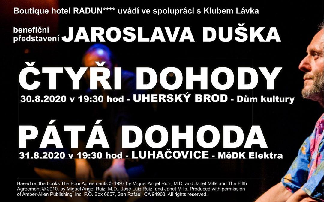 Jaroslav Dušek – Benefice pro Kaštánek