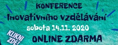 5. ročník Konference inovativního vzdělávání 14. listopadu 2020
